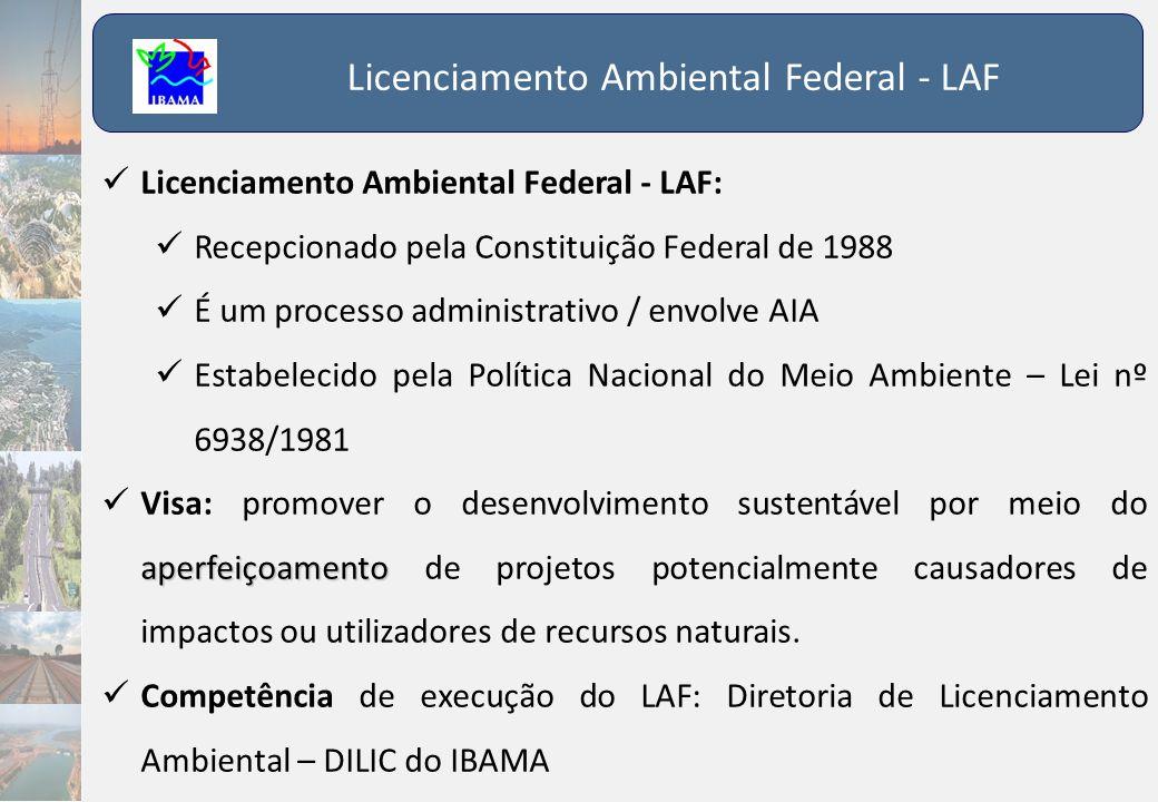 Licenciamento Ambiental Federal - LAF