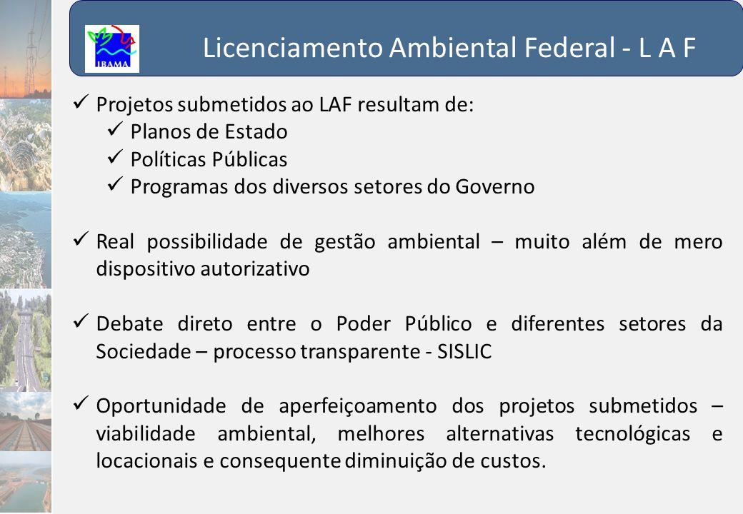 Licenciamento Ambiental Federal - L A F