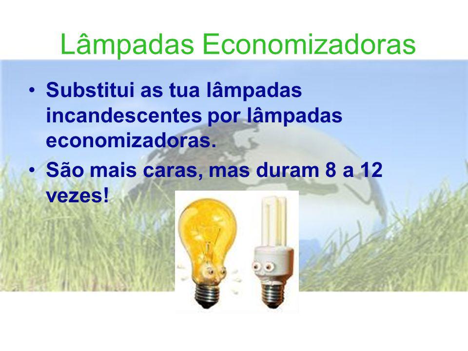 Lâmpadas Economizadoras