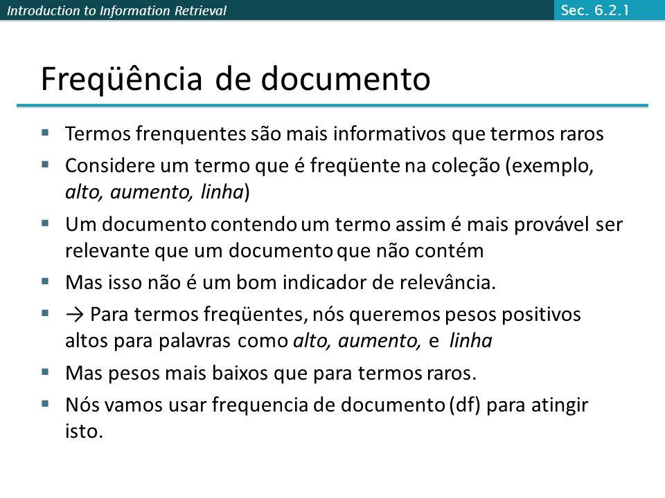Freqüência de documento