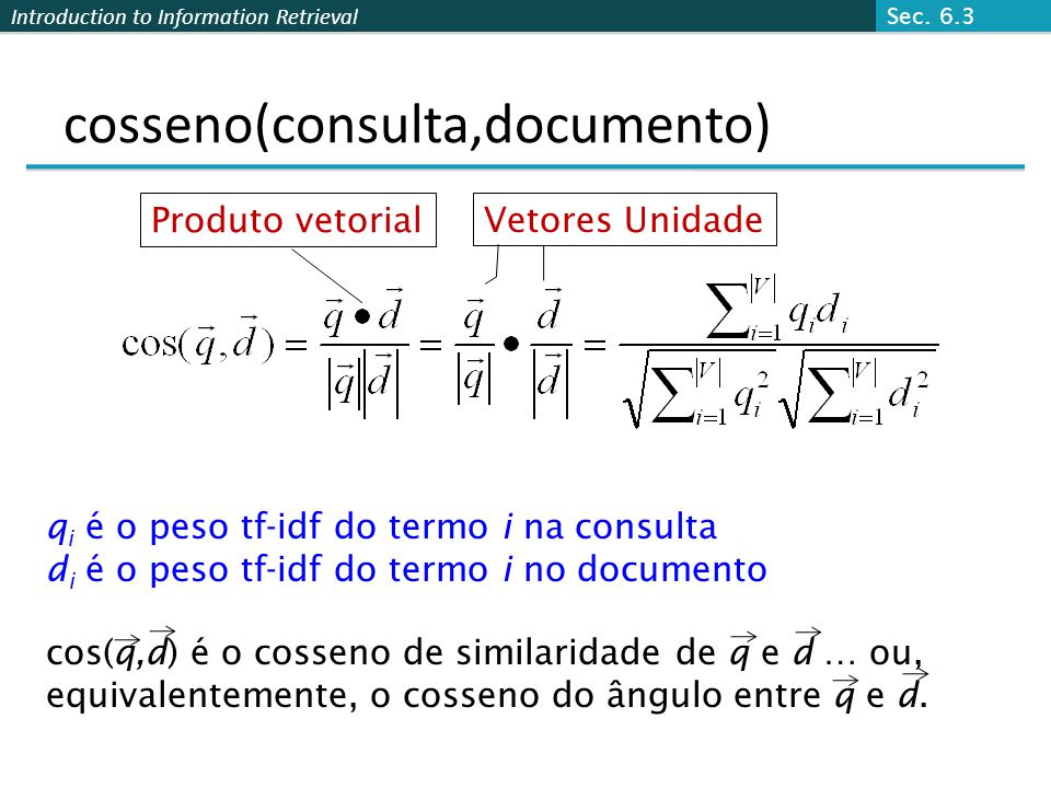 cosseno(consulta,documento)