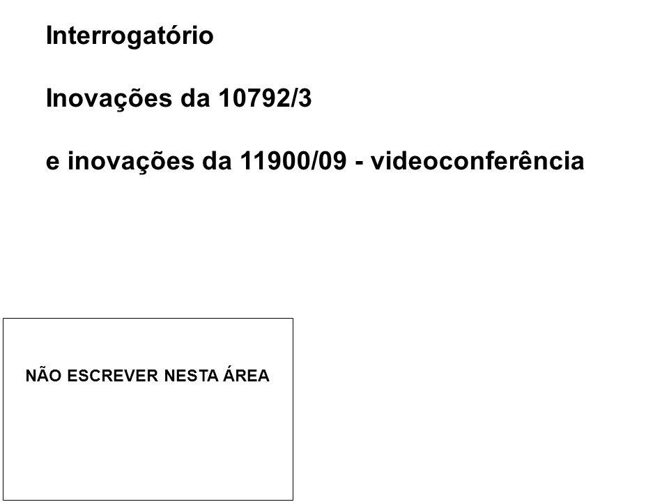 e inovações da 11900/09 - videoconferência