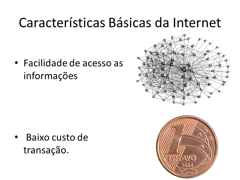 Características Básicas da Internet