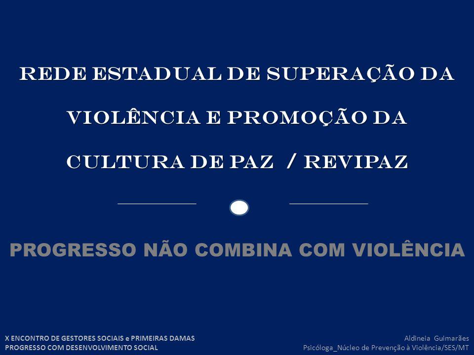 PROGRESSO NÃO COMBINA COM VIOLÊNCIA