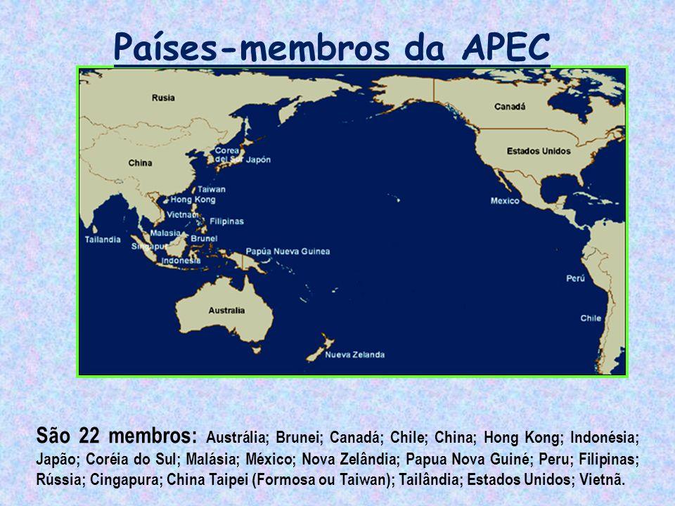 Países-membros da APEC
