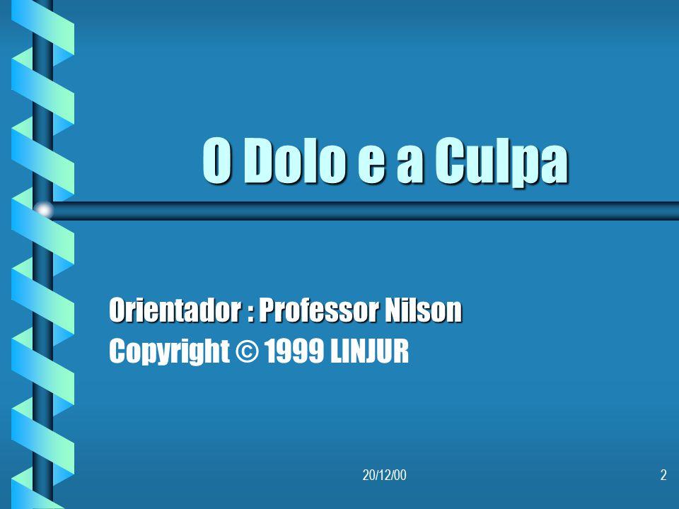 Orientador : Professor Nilson Copyright © 1999 LINJUR