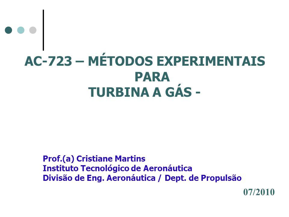 AC-723 – MÉTODOS EXPERIMENTAIS PARA