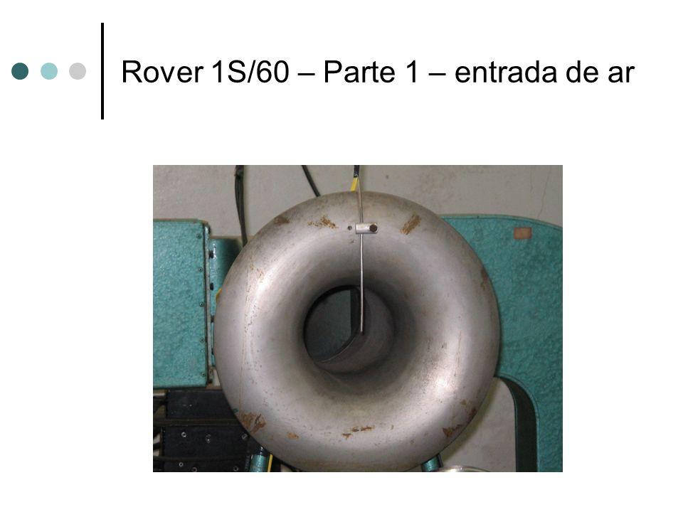 Rover 1S/60 – Parte 1 – entrada de ar