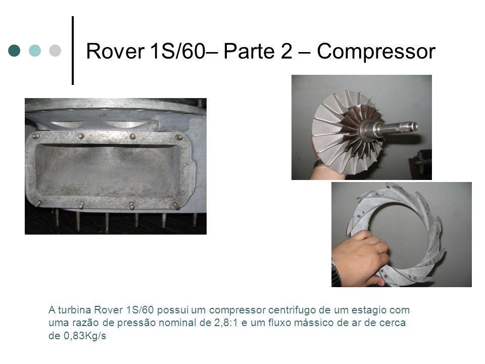 Rover 1S/60– Parte 2 – Compressor