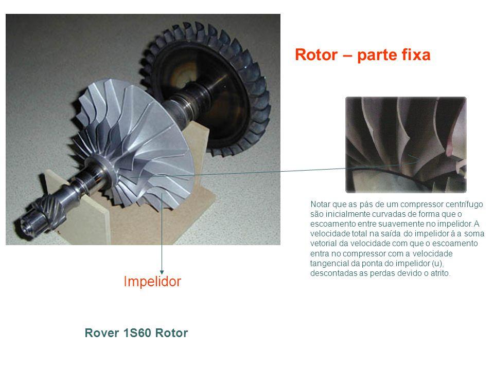 Rotor – parte fixa Impelidor Rover 1S60 Rotor