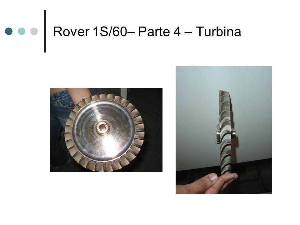 Rover 1S/60– Parte 4 – Turbina