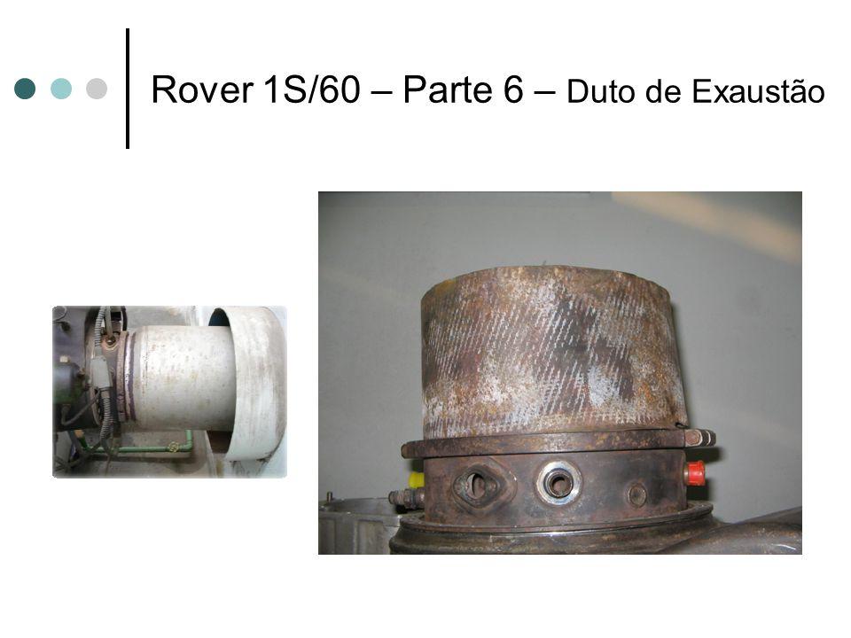 Rover 1S/60 – Parte 6 – Duto de Exaustão