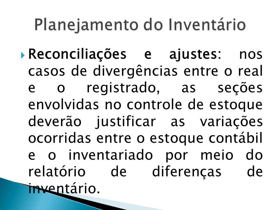 Planejamento do Inventário