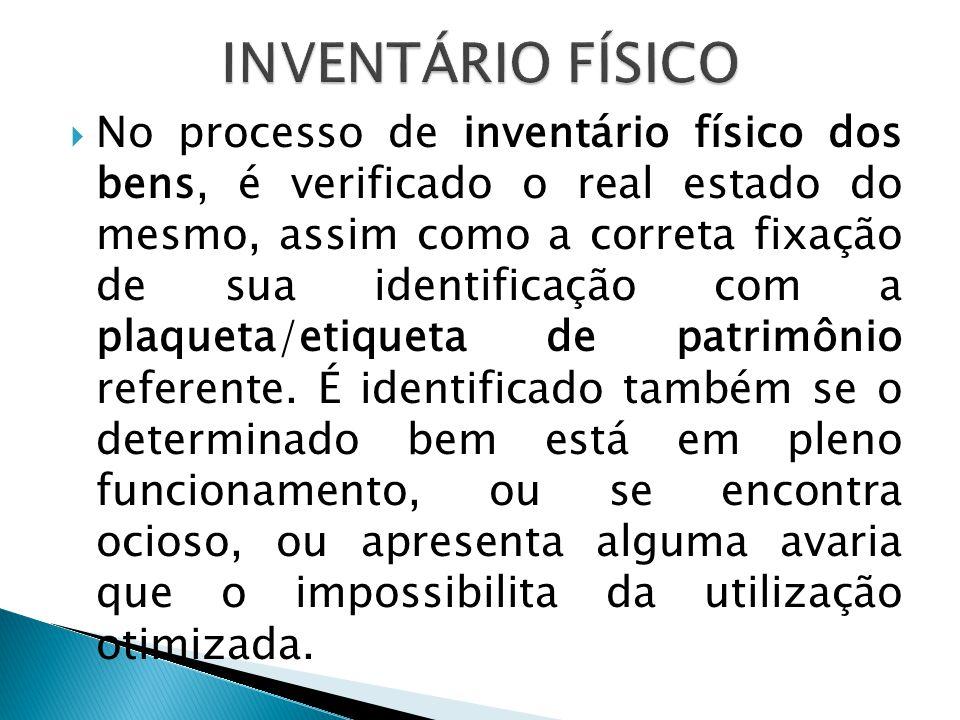 INVENTÁRIO FÍSICO