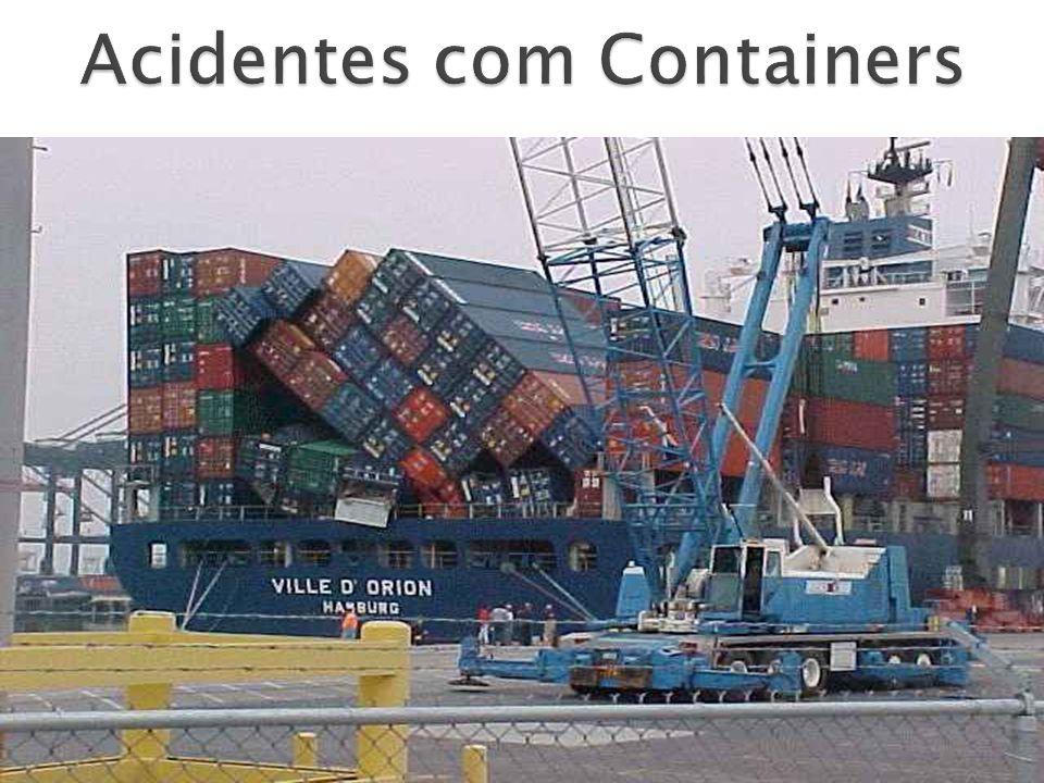 Acidentes com Containers