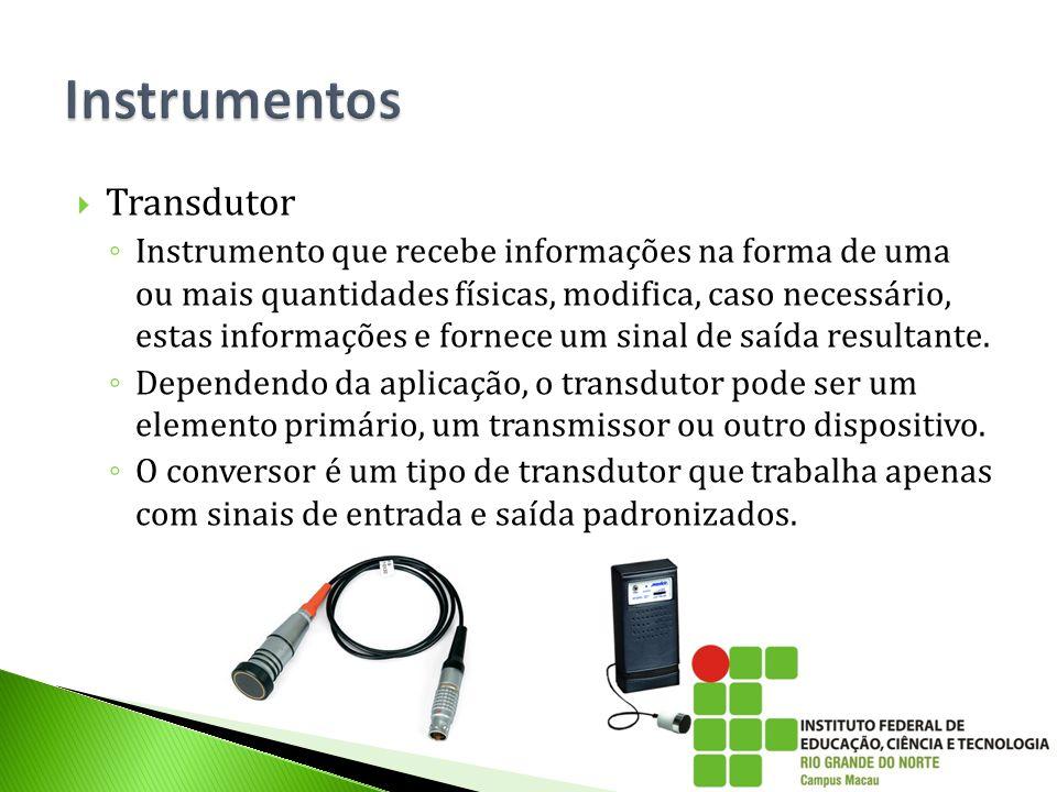 Instrumentos Transdutor