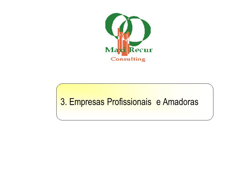 3. Empresas Profissionais e Amadoras