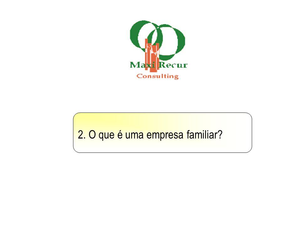 2. O que é uma empresa familiar