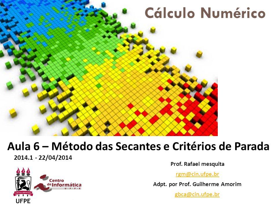 Adpt. por Prof. Guilherme Amorim