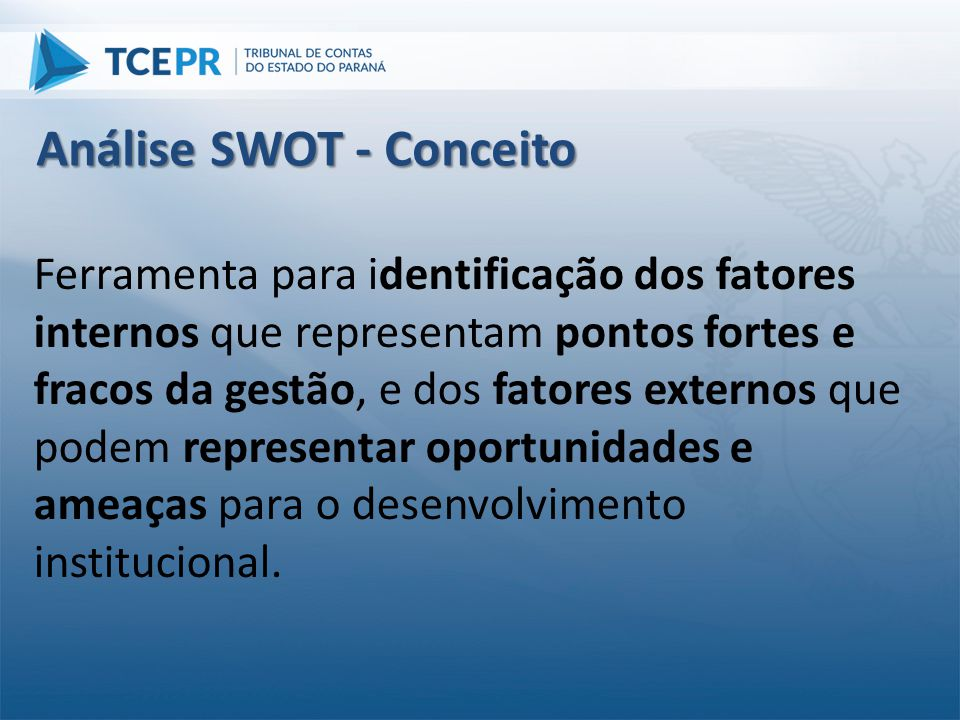 Análise SWOT - Conceito