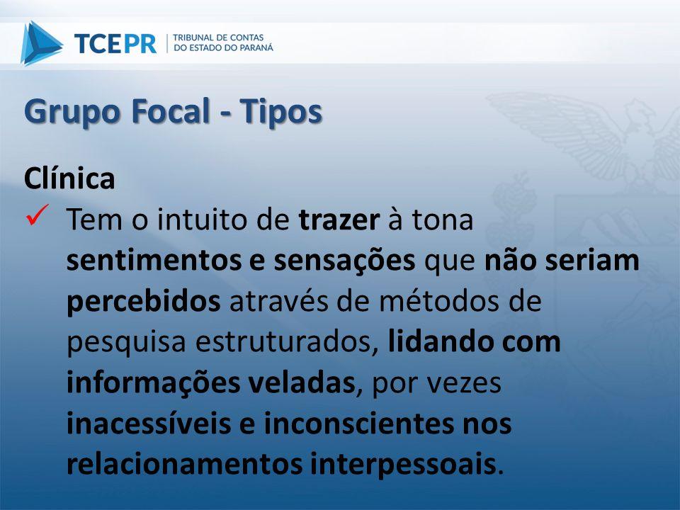 Grupo Focal - Tipos Clínica