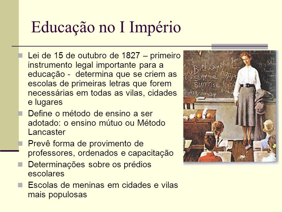 Educação no I Império