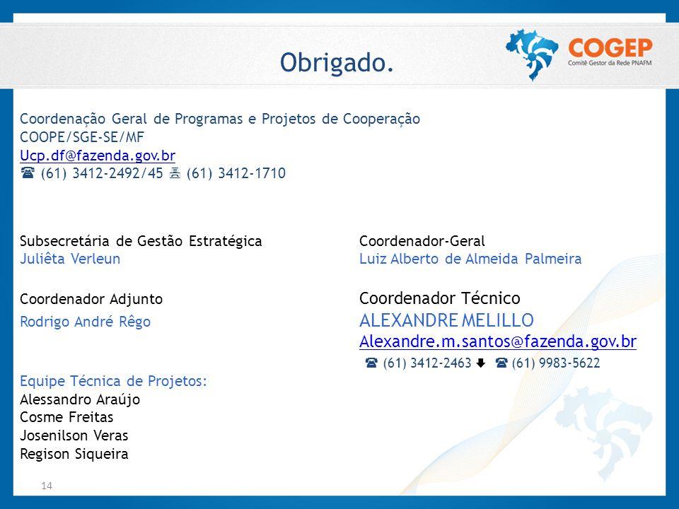 Obrigado. Alexandre.m.santos@fazenda.gov.br