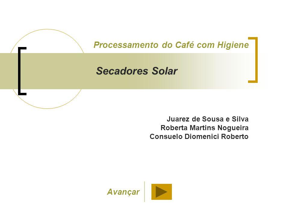 Secadores Solar Processamento do Café com Higiene Avançar