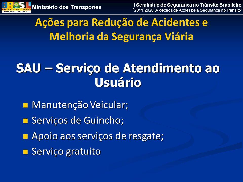 SAU – Serviço de Atendimento ao Usuário