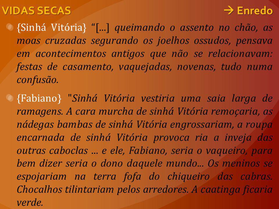 VIDAS SECAS  Enredo