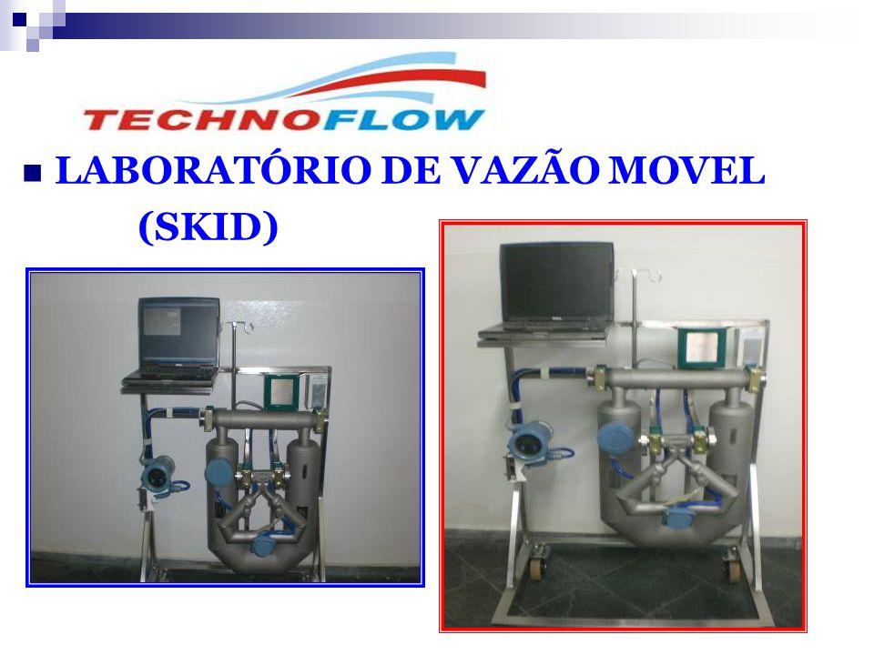 LABORATÓRIO DE VAZÃO MOVEL