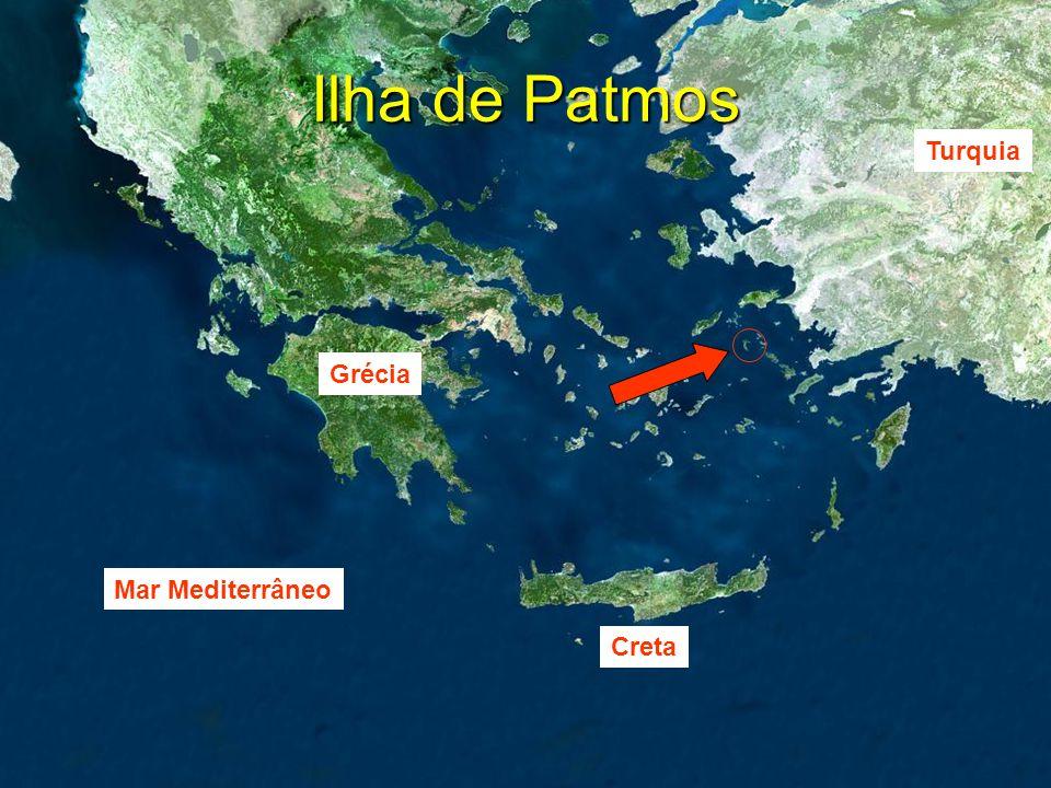 Ilha de Patmos Turquia Grécia Mar Mediterrâneo Creta