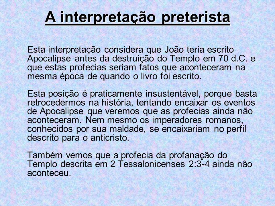 A interpretação preterista
