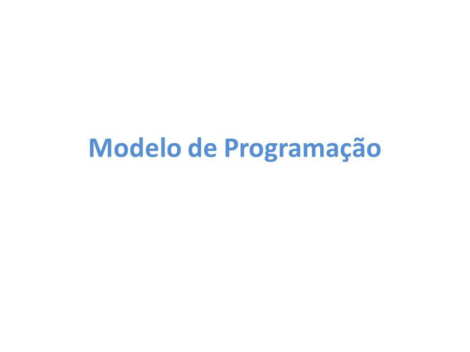 Modelo de Programação Nessa seção será explicado o que as funções Map e Reduce fazem, além das três etapas do modelo de programação.