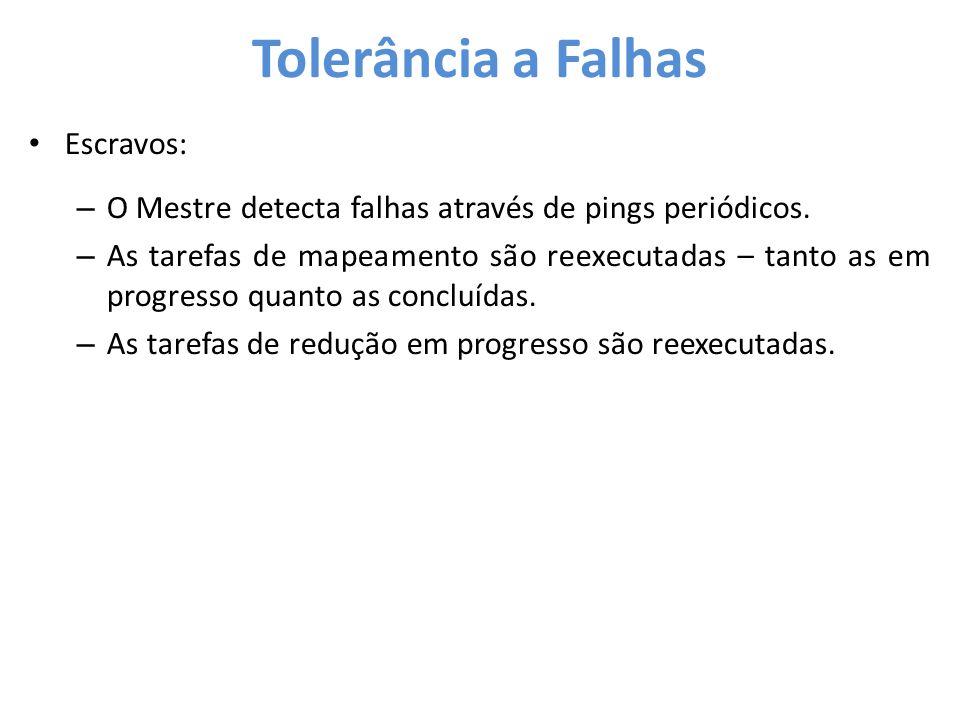 Tolerância a Falhas Escravos: