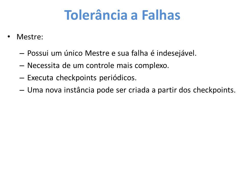 Tolerância a Falhas Mestre: