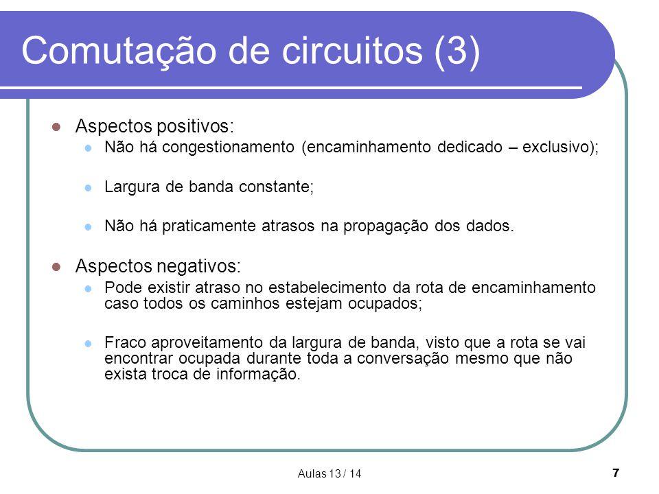 Comutação de circuitos (3)