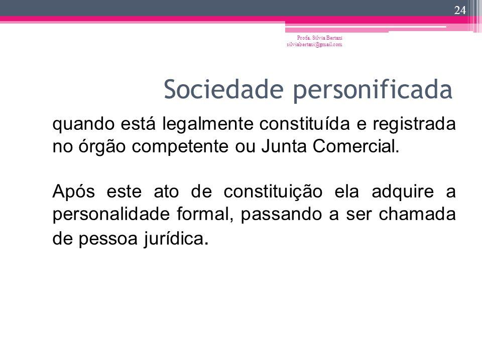 Sociedade personificada