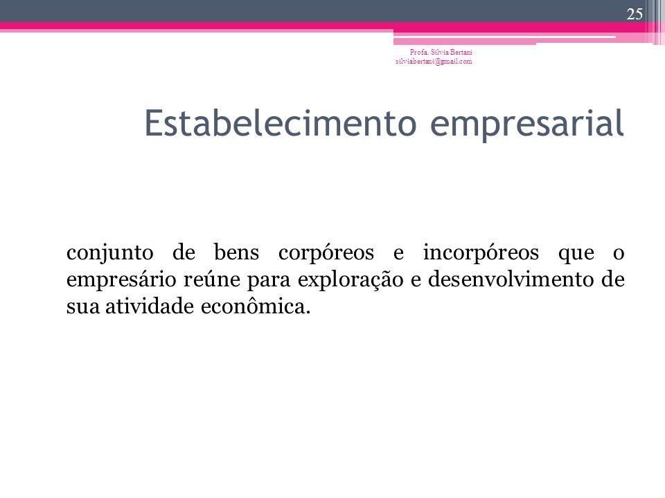 Estabelecimento empresarial