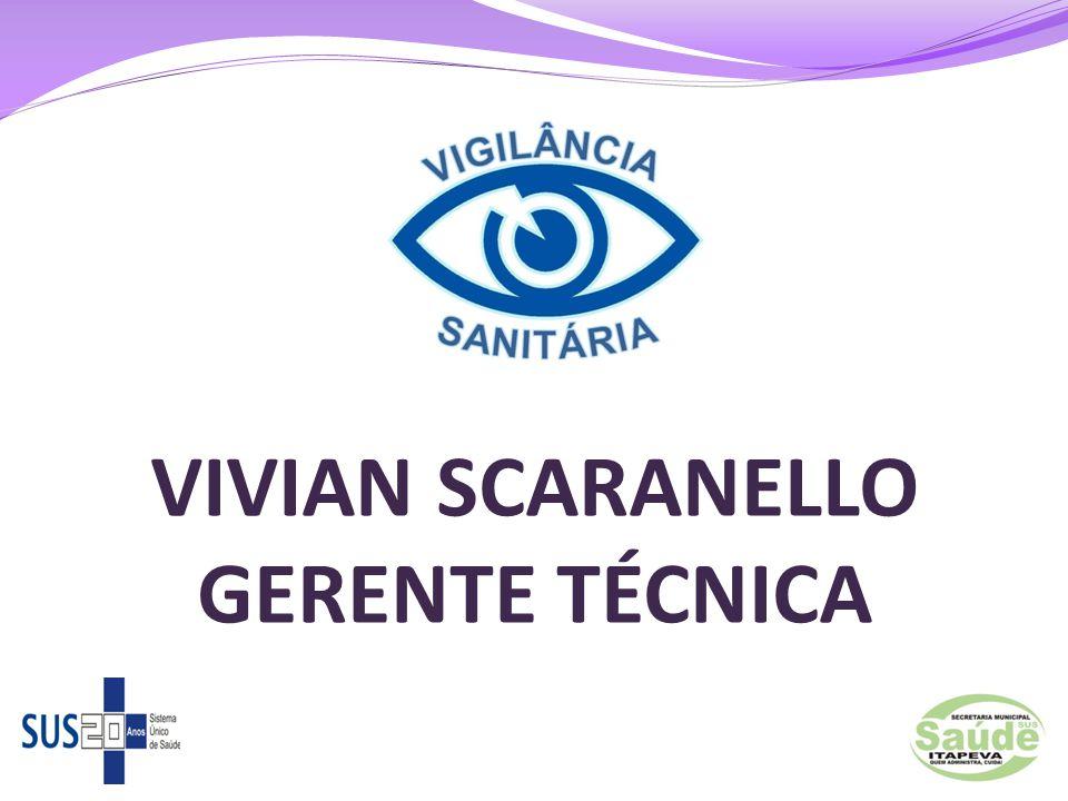 VIVIAN SCARANELLO GERENTE TÉCNICA