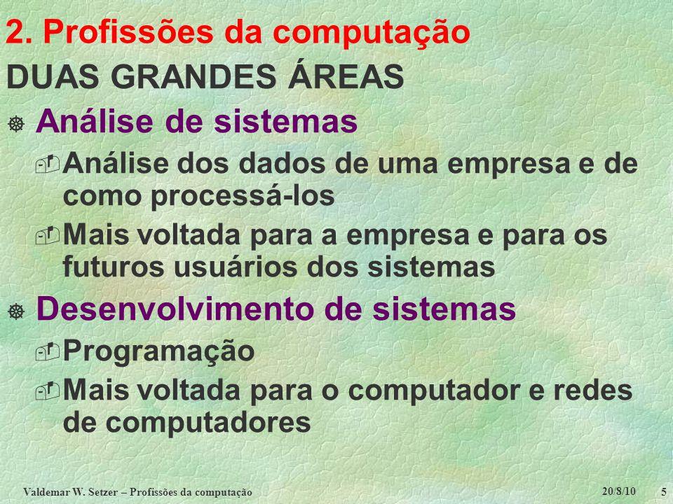 2. Profissões da computação