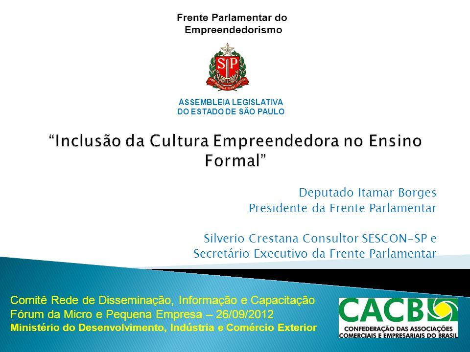 Inclusão da Cultura Empreendedora no Ensino Formal
