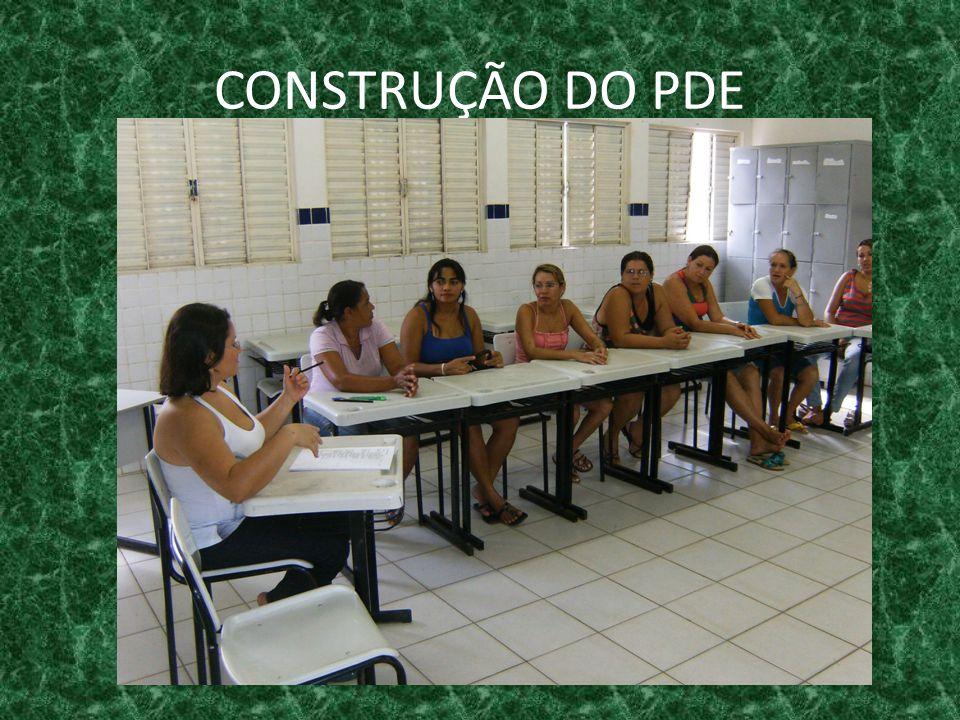 CONSTRUÇÃO DO PDE