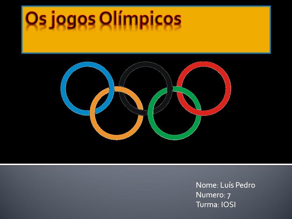 Nome: Luís Pedro Numero: 7 Turma: IOSI