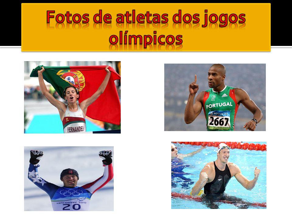 Fotos de atletas dos jogos olímpicos