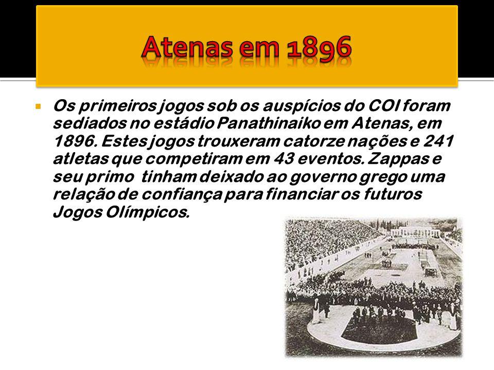 Atenas em 1896
