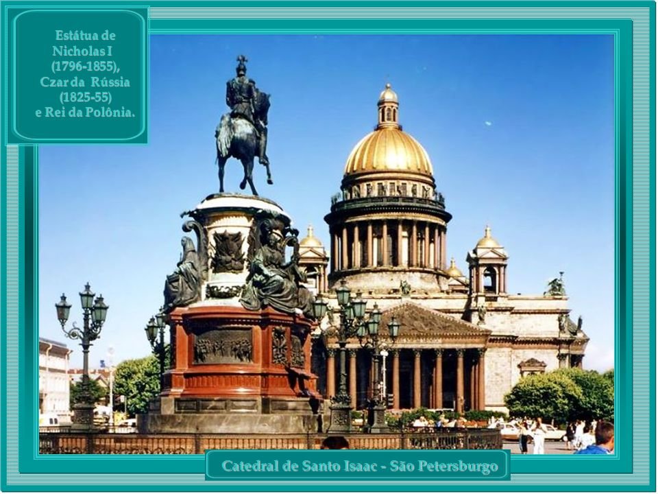 Catedral de Santo Isaac - São Petersburgo