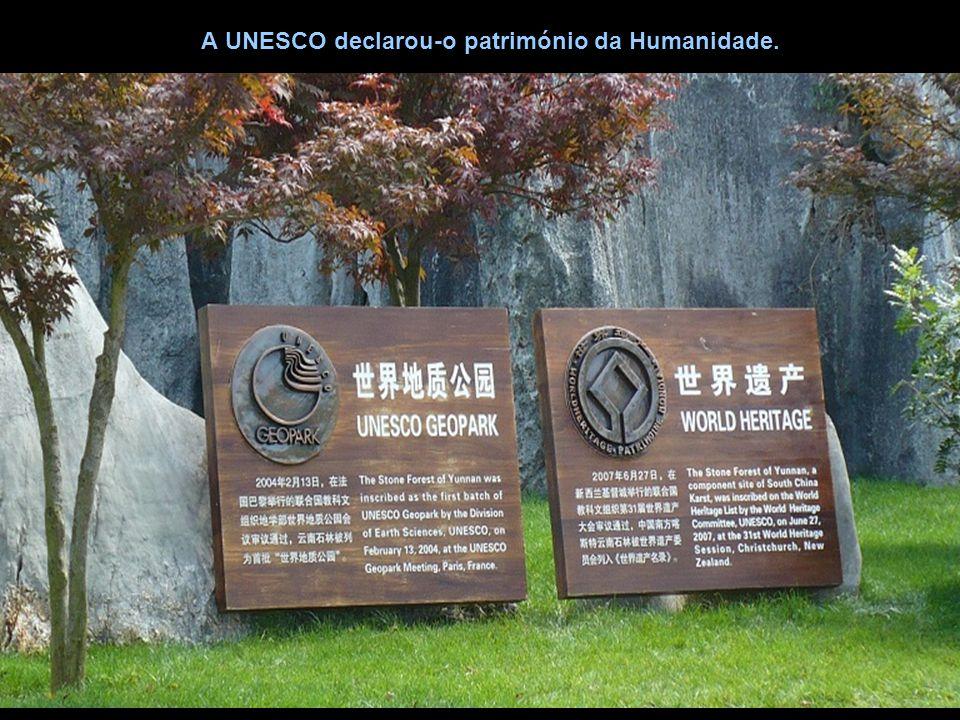 A UNESCO declarou-o património da Humanidade.