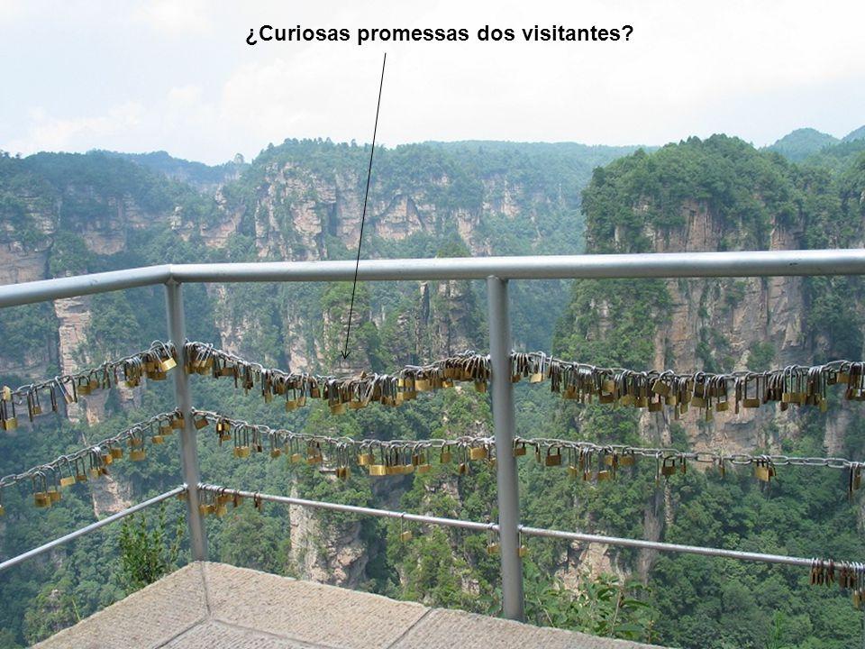 ¿Curiosas promessas dos visitantes