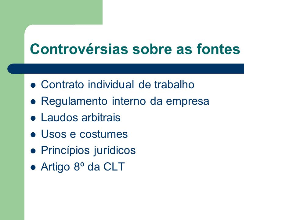 Controvérsias sobre as fontes